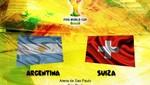 Brasil 2014: Argentina vs Suiza [EN VIVO]