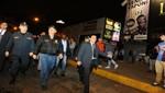 Ministro del Interior supervisó operativos en el Callao y Los Olivos