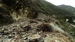 Deslizamiento de tierra dejó 4 personas heridas en Huánuco