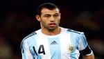 [Argentina en la final del Mundial Brasil 2014] Con M de Mascherano