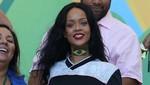 Rihanna celebró con el equipo alemán la victoria de la Copa Mundial [FOTOS]