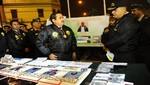 Ministro del Interior de plazo de un mes a la policía para acabar con falsificadores de Jirón Azángaro
