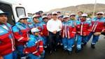 Gobierno entrega 149 ambulancias a diversas regiones del país