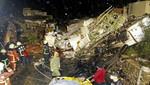 Taiwán: Al menos 47 muertos tras estrellarse un avión por el tifón Matmo