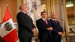 Presidente Humala encabezó suscripción de concesión del Gasoducto Sur Peruano