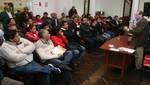 Orlando Obando y su equipo de trabajo se reunieron con Fernán Altuve