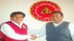 [Ancash] Lombardo Mautino y su reunión con el Decano del Colegio de Ingenieros del Santa