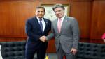 Presidente Humala viajó a Colombia para desarrollar una importante agenda de trabajo