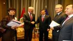 Jefe de Estado se reunió en Colombia con el presidente del Consejo Europeo