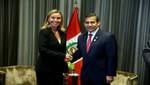 Mandatario diálogo con canciller italiana sobre migración, educación y salud en beneficio de peruanos