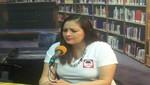 [Ancash] Erika Torres, candidata a alcaldesa de Casma, incursiona en los medios de comunicación chimbotanos