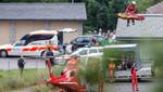 Suiza: Tren se descarriló debido a un deslizamiento de tierra