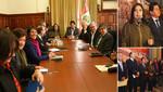 Ana Jara: Balance de reuniones con bancadas parlamentarias es positivo