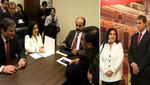 Ana Jara calificó de positiva reunión con bancada Concertación Parlamentaria