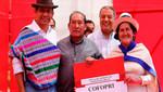 Ministerio de Vivienda convierte en propietarios a 3,040 familias de Junín