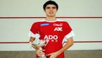 Squashista ADO PERÚ Diego Elías es campeón mundial juvenil