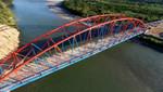 Se inauguró Puente Ubiriki-Río Perené en Junín