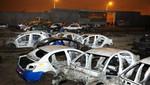 Policía Nacional intervino depósito donde desmantelaban vehículos
