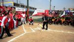 IPD y Federeación de Softbol inauguraron mini campo deportivo en San Juan de Lurigancho
