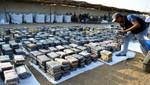 Hallan más de tres toneladas de cocaína ocultas en rocas de carbón en Trujillo