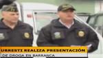 Incautación de Cocaína e Barranca: No fueron media tonelada, 400 kilos o más, sino 42 kilos