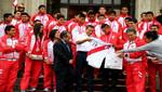 Presidente Ollanta Humala rindió homenaje a deportistas que destacaron en Nanjing 2014