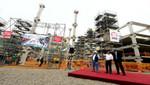Jefe de Estado inspeccionó obras de construcción del Lima Centro de Convenciones en San Borja
