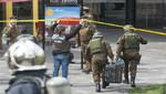 Chile condena 'atentado cobarde' en Santiago