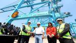 Ministra Magali Silva: Inversión de APM Terminals Callao incrementará competitividad del comercio exterior