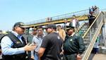 Ministro del Interior anunció seguridad en puentes peatonales de la Panamericana
