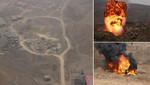 Destruyen maquinaria pesada en el Zapallal empleada en minería ilegal no metálica