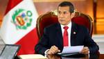 Comisión Permanente autoriza viaje de Ollanta Humala para asistir a Asamblea de la ONU