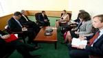 Diálogo sobre inclusión financiera de más necesitados sostuvo presidente Humala con Reina Máxima de Holanda