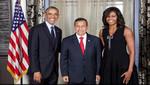 Ollanta Humala sostuvo encuentro con Barack Obama