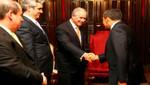 Presidente Ollanta Humala se reunió con directivos de importantes corporaciones financieras de Estados Unidos