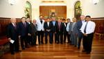 Presidente Humala se reunió con alcaldes de frontera del Perú y del Ecuador