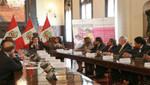 Gobierno central y regiones suscriben convenios para atender a gestantes y menores de 5 años