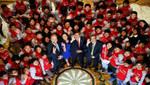Presidente Humala: Beca 18 es el primer programa público social con certificación ISO 9001 en América Latina