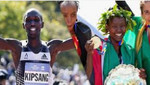 El keniano Wilson Kipsang y su compatriota Mary Keitany triunfaron en la maratón de Nueva York