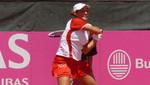 Tenista Bianca Botto va por el pódium en Torneo en Asunción