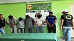 Siete organizaciones criminales dedicadas a la extorsión y sicariato cayeron en los últimos días