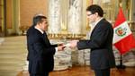 Jefe de Estado recibió cartas credenciales de embajadores de Australia, Panamá, Francia y Guatemala