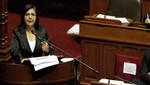 Ana Jara: 60% del incremento del presupuesto 2015 se destina a salud, educación y asistencia social