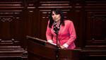 Ministra Magali Silva sustenta presupuesto 2015