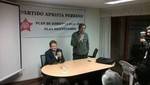 Gustavo Saberbein: APRA está preparada para celebrar en democracia el bicentenario de nuestra Independencia