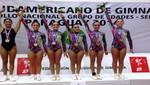 Perú conquistó 11 medallas en Sudamericano de Gimnasia Aeróbica