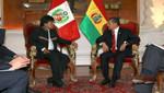 Presidentes Humala y Morales abordaron protección del medio ambiente, inversiones y seguridad en frontera común