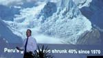 Al Gore presentó dramáticos efectos del cambio climático y los daños que nos esperan si no corregimos nuestros hábitos