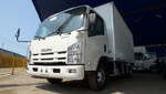 Gobierno peruano recibe donación de 15 camiones Isuzu amigables con el medio ambiente