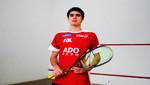 Squashista Diego Elías saldrá en busca del British Junior Open 2015